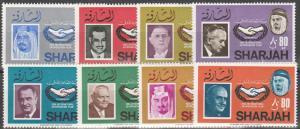 Sharjah #MI180-87 MNH (S10234)