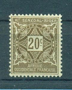 Upper Senegal & Niger sc# J11 mh cat value $1.60