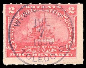 U.S. REV. DOCUMENTARY R164  Used (ID # 94532)