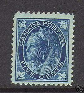 Canada #70 VF/NH **With Cert.**