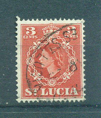 St. Lucia sc# 159 used cat value $.25
