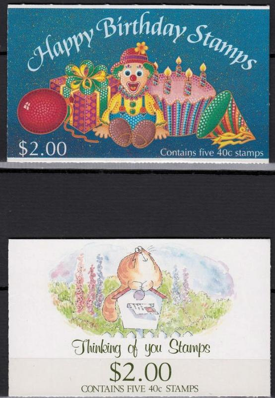 New Zealand - 1991 Thinking  complete booklets (9480)