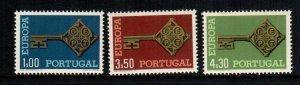 Portugal 1019 - 1021  MNH cat $ 10.00