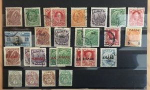 Small collection of Crete stamps