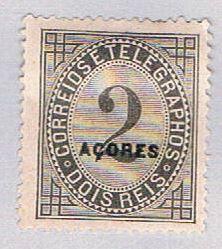 Azores P3 MLH Newspaper Stamp (BP21320)