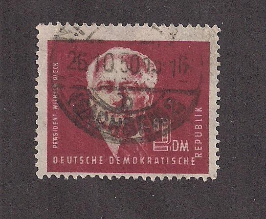 GERMANY - DDR SC# 57 F-VF U 1950