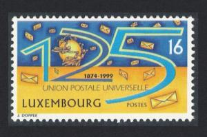 Luxembourg 125th Anniversary of Universal Postal Union 1v SG#1498