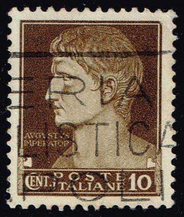 Italy #215 Augustus Caesar; Used at Wholesale (0.25)
