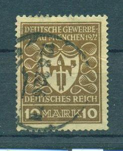 Germany sc# 216 used cat value $2.75