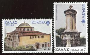 GREECE Scott 1255-1256 MNH** 1978 Europac set