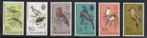 Cayman Islands Scott #322-327 MNH