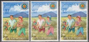 Philippine Is #1023-5    MNH  (S6051)