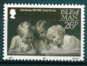 Isle of Man 26p Manx Photographers issue of 1991,  Scott 442,  MNH