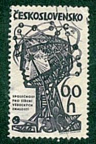 Czechoslovakia -  #1210 Scientific Knowledge - Used