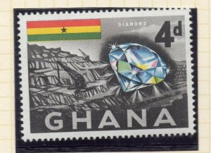 Ghana 1959 (5 Oct) Early Issue Fine Mint Hinged 4d. NW-99782