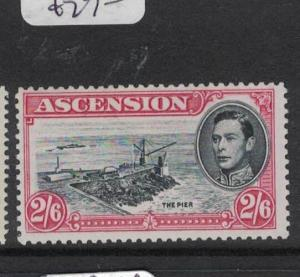 Ascension Island SG 45c MOG (9dsj)