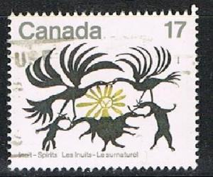 CANADA 1702106 - 1980 Inuit Spirits used single