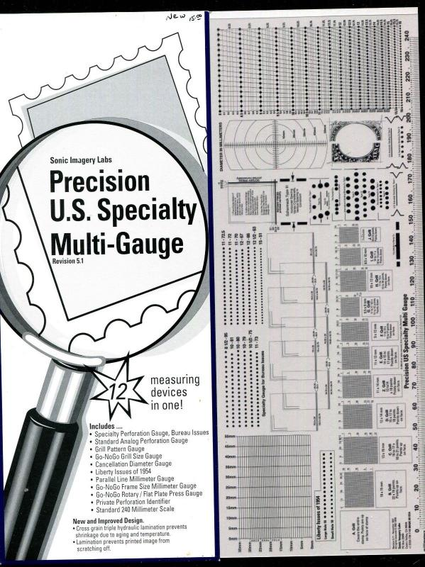 Precision US Specialty Multi Gauge Rev 5.1 12 Measuring Devices New