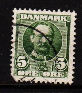 Denmark -  #72 King Frederick VIII - Used