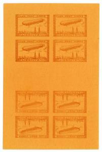 (I.B) Germany Postal : Zeppelin Flugpost (Liegnitz 1913)