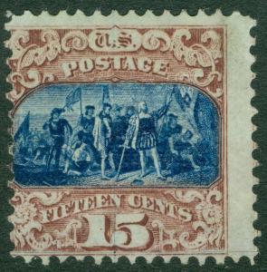 EDW1949SELL : USA 1869 Sc #119 Mint NG. Very Fresh & Scarce PSAG Cert Cat $1150