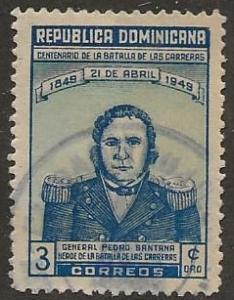 DOMINICAN REPUBLIC SC #  432     USED