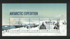 AAT99) Australian Antarctic Territory 2012 Expedition Part II Minisheet MUH