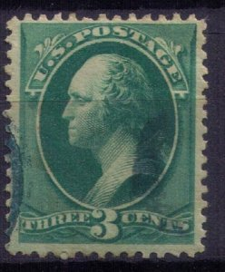 US Sc 158 Used Green   F-VF