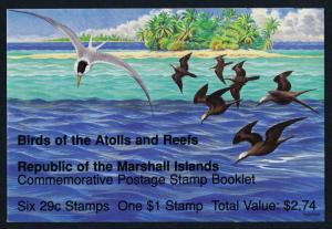 Marshall Islands 406a Booklet MNH Birds
