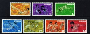 ANTIGUA 1976 Olympic Games, Montreal Set SG 495 to SG 501 MINT