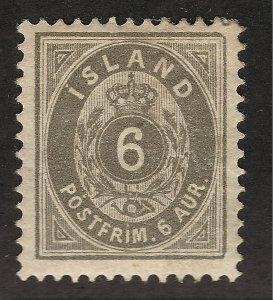 Iceland Vibrant Sc#25 Mint OG VF SCV $22.50...Make me an Offer!!