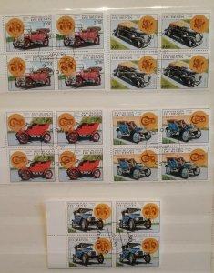 Republique du Benin 1997 Classic Cars 4 Blocks of 4 Motoring Vintage Automobile