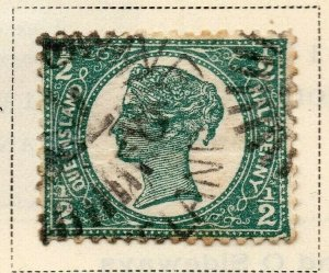 Queensland 1897-1900 Early Issue Fine Used 1/2d. 326844
