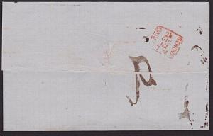 ITALY 1862 entire wrapper TORINO TO GENOA...................................7359