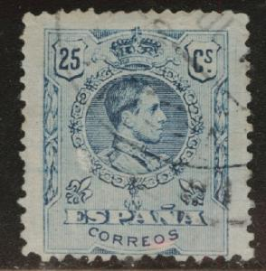 SPAIN Scott 302 Used King Alfonso XIII from 1909-1922 set