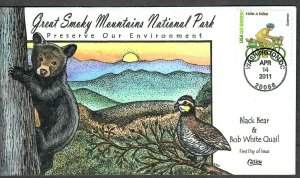 US Collins FDC Sc#4524j Great Smoky Mountains National Park