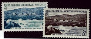 FSAT Antarctic SC#4-5 MNH VF SCV$21.00...Worth a Close Look!