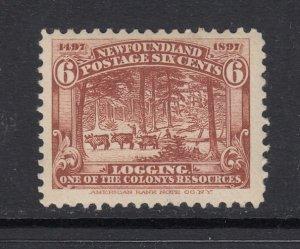 Newfoundland, Sc 66 (SG 71), MLH