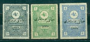 Turkey In Asia #29-31  Mint H  Scott $78.50