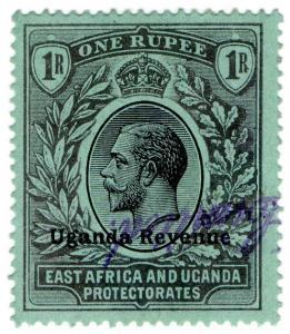 (I.B) KUT Revenue : Uganda Duty 1R (1912)