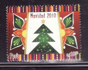 Peru-Sc#1753-unused NH-Christmas 2010-