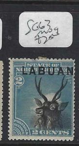 LABUAN (P1303B)  2C  DEER  SG 63   MOG