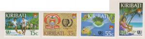 Kiribati Sc#460-463 MH
