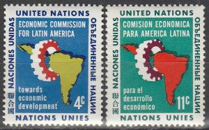 United Nations #93-4  MNH  (S1367)