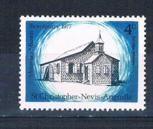 St Kitts-Nevis 339 MNH Estridge Mission 1977 (S0886)