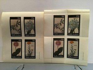 Staffa Scotland plant flowers Atragene MNH stamps  R25307