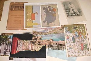 IRAN  25 DIFF. PICTURE CARDS FROM 1899 INCLUDES PERSIAN & INDIAN PAINTINGS