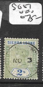 SIERRA LEONE (P0809B) QV SG 51  CDS    VFU