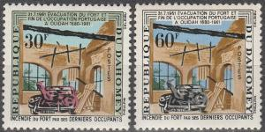 Dahomey #153-4  MNH F-VF  (V756)