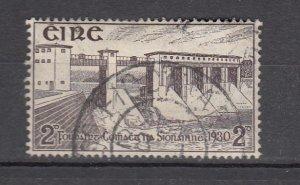 J26192 jlstamps 1930 ireland used #83 dam electric